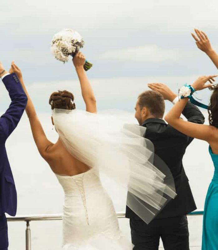 All-Inclusive Private Yacht Charter Weddings